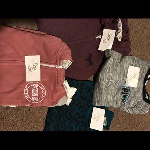 VS sweater bundle